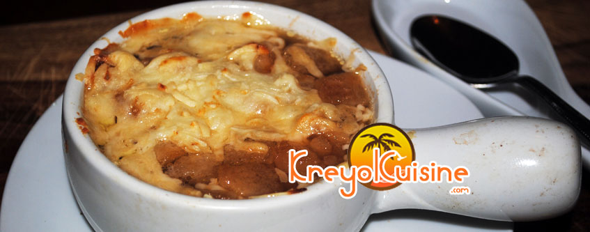 Creole onion soup Recipe