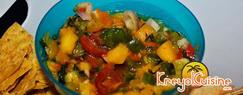 Cool Mango Salsa Recipe