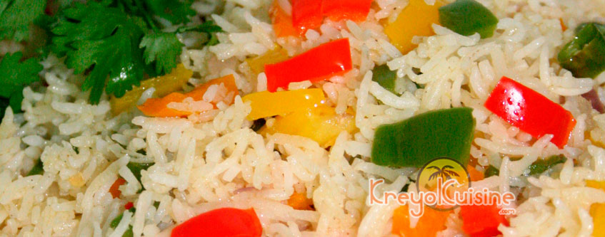 Rice with Vegetable Medley Recipe