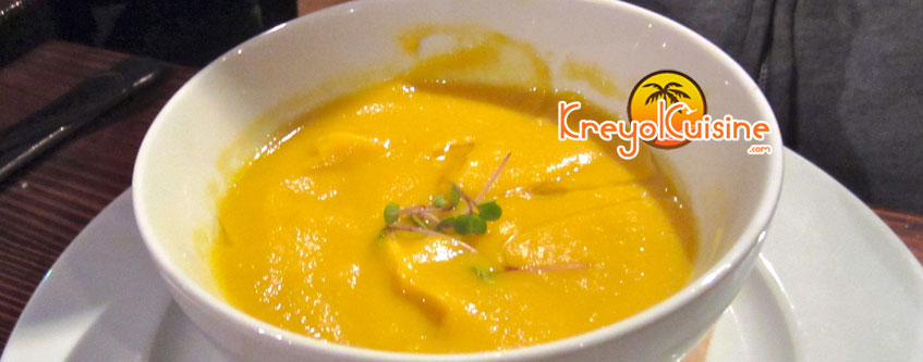 Sweet potatoes and parsnips Soup Recipe