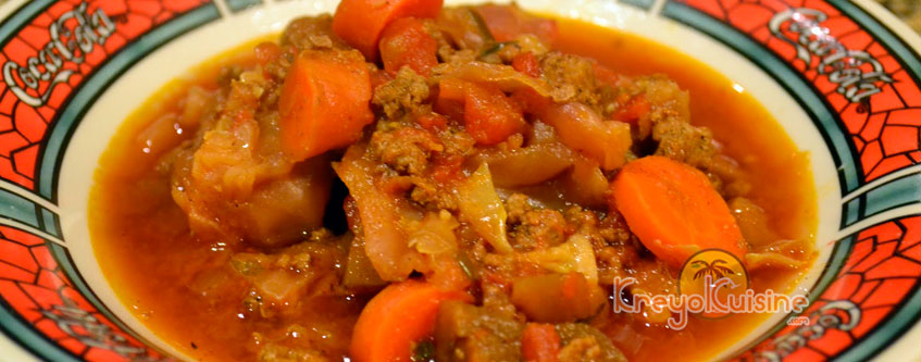 beef and Eggplant Legume  Recipe
