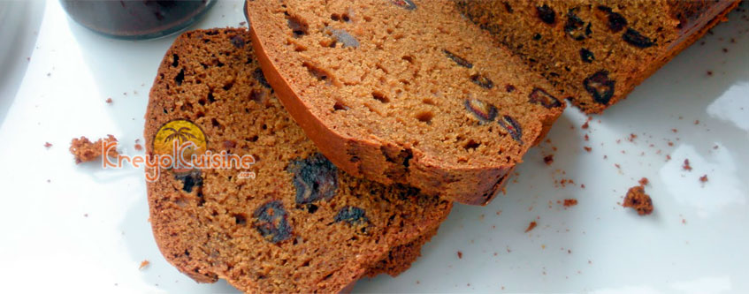 Dates Bread Recipe
