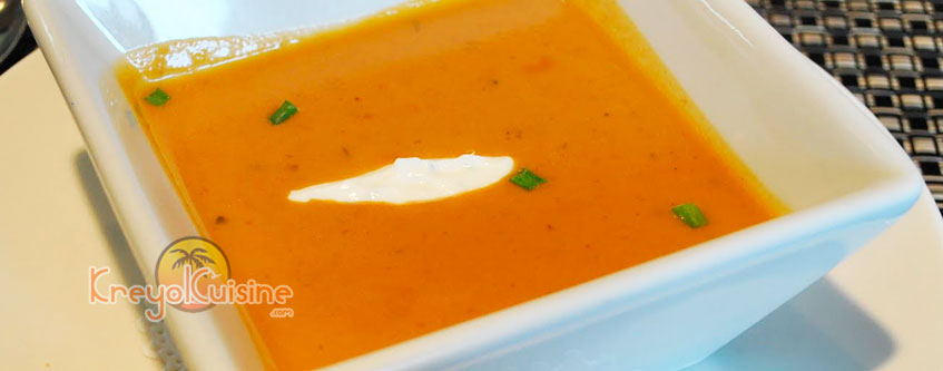 West Indian Lobster Bisque Recipe