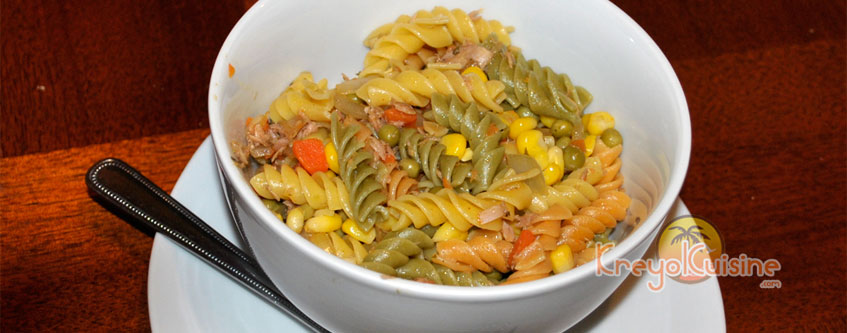 Sea pasta salad Recipe