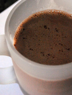 Cuban hot chocolate