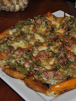 Plantains Pizza