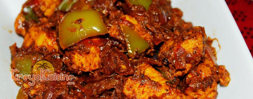 Recette de poulet martiniquais for Recette poulet