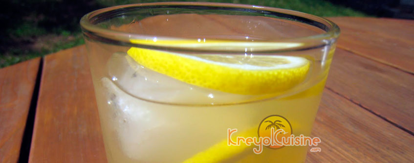 Creole Lemonade Recipe